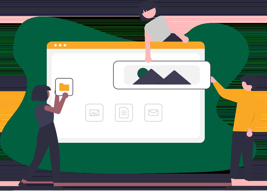 Websites bouwen op maat